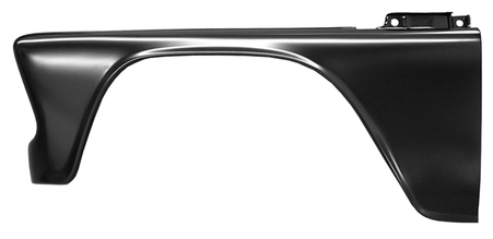 This complete front fender, driver's side fits 1960-1966 Chevrolet Pickup Truck and 1960-1966 GMC Pickup Truck