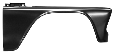 This complete front fender, passenger's side fits 1960-1966 Chevrolet Pickup Truck and 1960-1966 GMC Pickup Truck