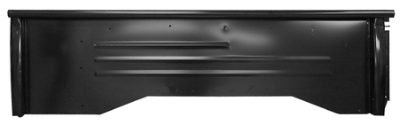 This stepside short bed bedside, driver's side fits 1960-1966 Chevrolet Pickup Truck and 1960-1966 GMC Pickup Truck