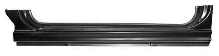 This EO Style rocker panel, driver's side fits 1960-1966 Chevrolet Pickup Truck and 1960-1966 GMC Pickup Truck
