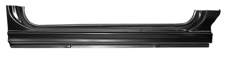 This EO Style rocker panel, passenger's side fits 1960-1966 Chevrolet Pickup Truck and 1960-1966 GMC Pickup Truck