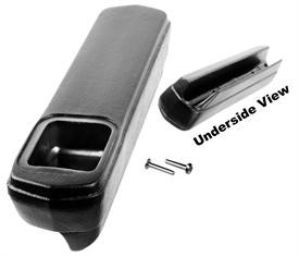 This drivers side rear door arm rest fits 1969-72 Blazers and Suburbans with rear bench seats.