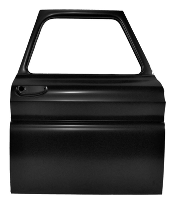This front door shell, passenger's side fits 1964-1966 Chevrolet Pickup Truck and 1964-1966 GMC Pickup Truck