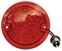 This LED tail lamp lens fits 1960-66 Chevrolet and GMC stepside trucks.