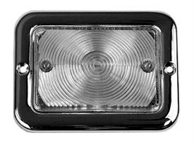 This clear, 12v park lamp assembly fits Chevrolet and GMC trucks.