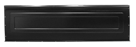 This fleetside front bed panel fits 1960-1966 Chevrolet Pickup Truck and 1960-1966 GMC Pickup Truck