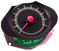 This original style 5000 rpm tachometer gauge fits 1967-72 Chevrolet and GMC trucks. Use with 1147D or 1157E lens.