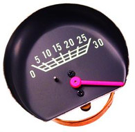 This original style vacuum gauge fits 1967-72 Chevrolet and GMC trucks.