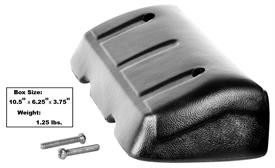 This black interior arm rest fits 1968-71 Chevrolet and GMC trucks.