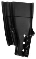 This lower rear door pillar, passenger's side fits 1960-1966 Chevrolet Pickup Truck and 1960-1966 GMC Pickup Truck