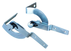 This glove box door hinge and spring set fits 1947-53 GM trucks