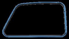 This passengers side inner door window frame fits 1947-50 GM Trucks
