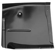This high quality year exact cab floor pan, driver's side fits 1960-1962 Chevrolet Pickup Truck and 1960-1962 GMC Pickup Truck