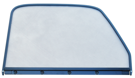 This 1st Series door window glass (clear) assembly, with painted trim, passenger's side fits 1947-1955 Chevrolet and GMC Pickup Trucks