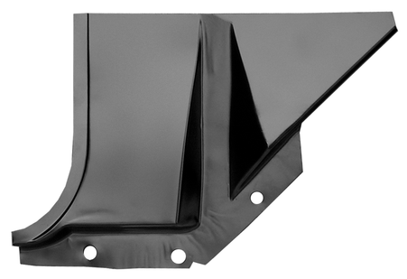 This foot well, driver's side fits 1960-1966 Chevrolet Pickup Truck and 1960-1966 GMC Pickup Truck