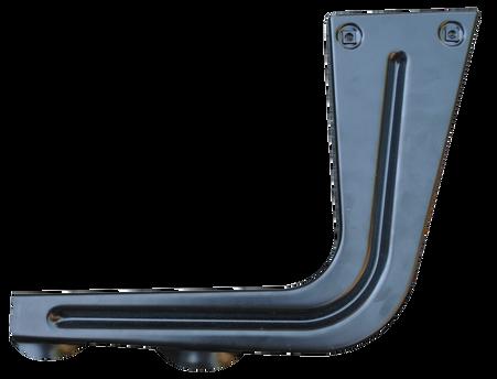 This passengers side step hanger fits stepside 1967-72 Chevrolet and GMC trucks.