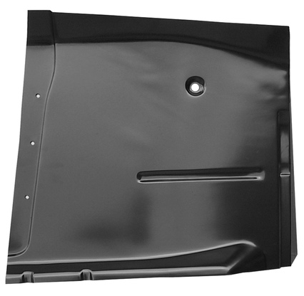 This high quality year exact cab floor pan, passenger's side fits 1960-1962 Chevrolet Pickup Truck and 1960-1962 GMC Pickup Truck