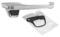 This outer door handle, passenger's side fits 1973-1987 Chevrolet and GMC Pickups and 1973-1991 Chevrolet Blazer