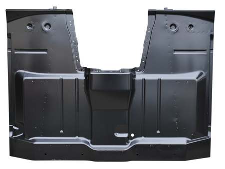This complete cab floor assembly fits 1960-62 Chevrolet and GMC 4wd trucks with floor shift.
