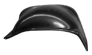 This inner front fender, passenger's side fits 1973-1980 Chevrolet and GMC Pickup Trucks and Chevrolet Blazers and Suburbans