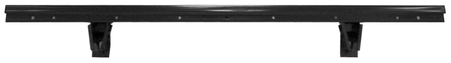 This rear bed floor cross sill, 1/2 - 3/4, for a bed with 7 strips, fits 1963-1966 Chevrolet Stepside Pickup Truck and 1963-1966 GMC Stepside Pickup Truck
