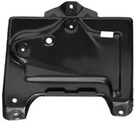 This battery tray fits 1967 Chevrolet Chevelles