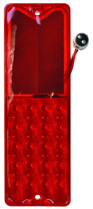 This LED tail light fits both passenger and drivers side 1967-72 fleetside Chevrolet and GMC trucks.