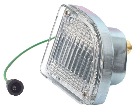 This drivers side back up light assembly in clear fits 1967-72 fleetside Chevrolet and GMC trucks, Blazers and Suburbans