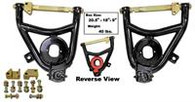 This pair of lower control arms are tubular and fit 1955-57 Chevrolet Cars