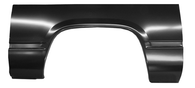 This complete passengers side wheel arch fits 1988-98 Chevrolet and GMC pickup trucks.