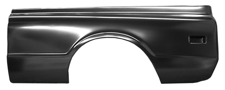 This complete 6' fleetside bedside, driver's side fits 1968-1972 Chevrolet Pickup Truck and 1968-1972 GMC Pickup Truck