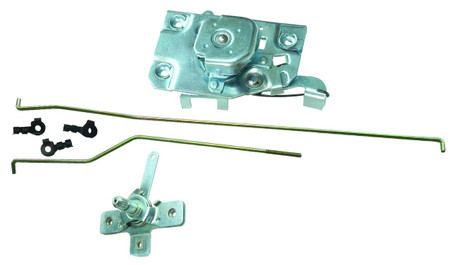 This passengers side door latch/rod/remote assembly fits 1967-71 Chevrolet and GMC trucks.
