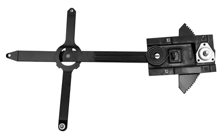 This passengers side window regulator fits 1972 Chevrolet and GMC trucks.