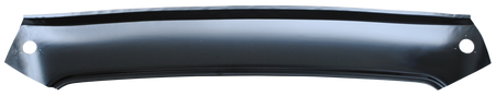 This front upper inner roof panel fits 1955-1959 Chevrolet and GMC Pickups trucks and Suburbans.