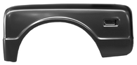 This stepside bedside fender, driver's side fits 1968-1972 Chevrolet Pickup Truck and 1968-1972 GMC Pickup Truck