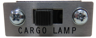 This cargo lamp switch fits 1969-72 Chevrolet and GMC pickup trucks.