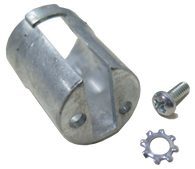 This 1st Series glove box lock retainer fits 1947-1955 Chevrolet and GMC Pickup Trucks, Suburbans and Panels.