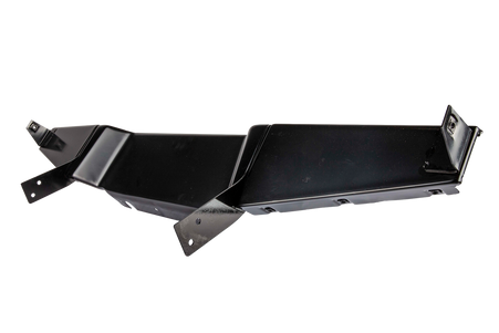 This 5 piece lower splash shield mounts under the radiator support and comes with a left, right and center piece along with 2 mounting brackets. It fits 1947-1955 GMC Pickup Trucks, Suburbans and Panels.