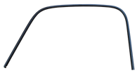 This outer window trim, drip rail, driver's side fits 1947-1954 1st Series Chevrolet and GMC Pickup Trucks.