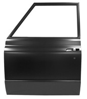 This complete door shell, driver's side fits 1972 Chevrolet Suburbans. This is a truck freight item, please call for shipping quote.