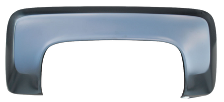 This driver's side rear stepside fender, w/o fuel opening, fits 1979-1987 Chevrolet and GMC Pickup Trucks.