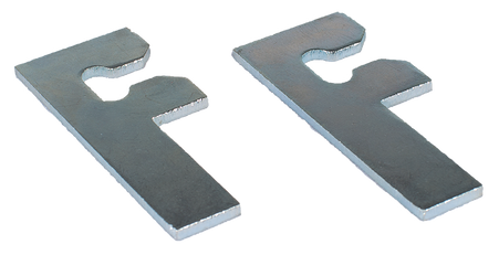 """This 2 pack of galvanized """"F"""" shims fits 1967-1970 Chevrolet and GMC Pickup trucks, Blazers, Jimmy's and Suburbans."""