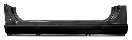 This 3rd door rocker panel fits 1967-1972 Chevrolet Suburbans.