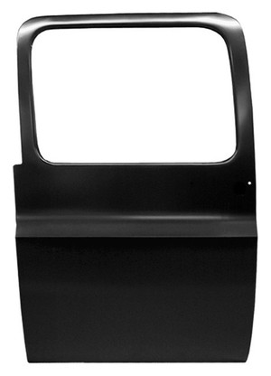 This rear door, driver's side fits 1973-1991 Chevrolet/GMC Suburban, 1973-1987 CHEVROLET/GMC Crew cab pickup.