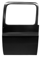 This rear door, passenger's side fits 1973-1991 Chevrolet/GMC Suburban, 1973-1987 CHEVROLET/GMC Crew cab pickup.