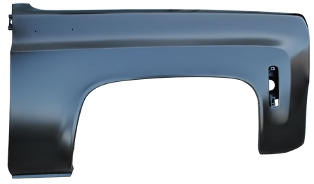 This new passengers side PREMIUM front fender fits 1973-80 Chevrolet and GMC Pickups, Suburbans, Blazers and Jimmys.