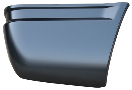 This passenger side rear lower quarter panel section fits 1992-1995 Chevrolet Fullsize 2 door Blazers, 1995-1999 Chevrolet 2 door Tahoes and 1992-1999 GMC 2 door Yukons.