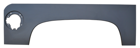 This driver's side upper wheel arch fits 2007 2013 Chevy Silverado with 5.5' fleetside bed. *Note: Does NOT fit GMC Truck.