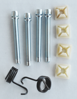 This 10 piece headlight adjuster kit fits 1967-1968 Chevrolet and GMC Pickup Trucks and Suburbans.