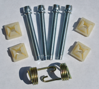This 10 piece headlight adjuster kit fits 1969-1972 Chevrolet and GMC Pickup Trucks, Blazers and Suburbans.